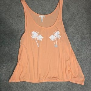 NEVER WORN coral colored super soft tank